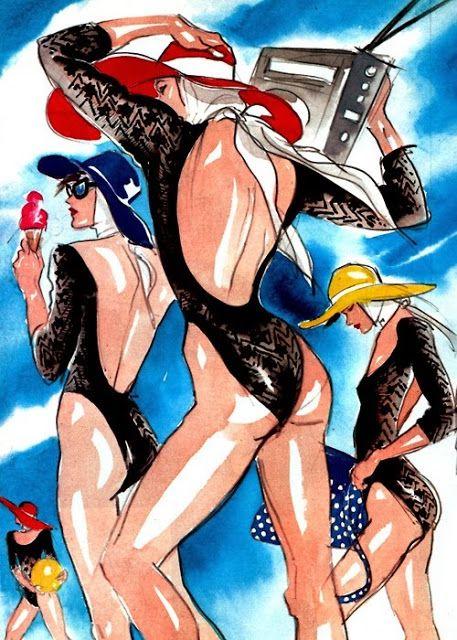 Illustration Inspiration Antonio Lopez Ilustracion De Moda
