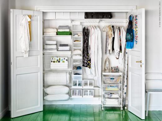 90 best Ikea Closets images on Pinterest | Bedrooms, Walk in closet ...