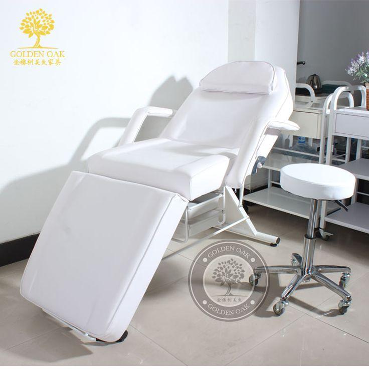 Schoonheid bed lichaam massage. Wassen een fysiotherapie bed. Vouw de cilia stoel tattoo stoel. Verpleging bed