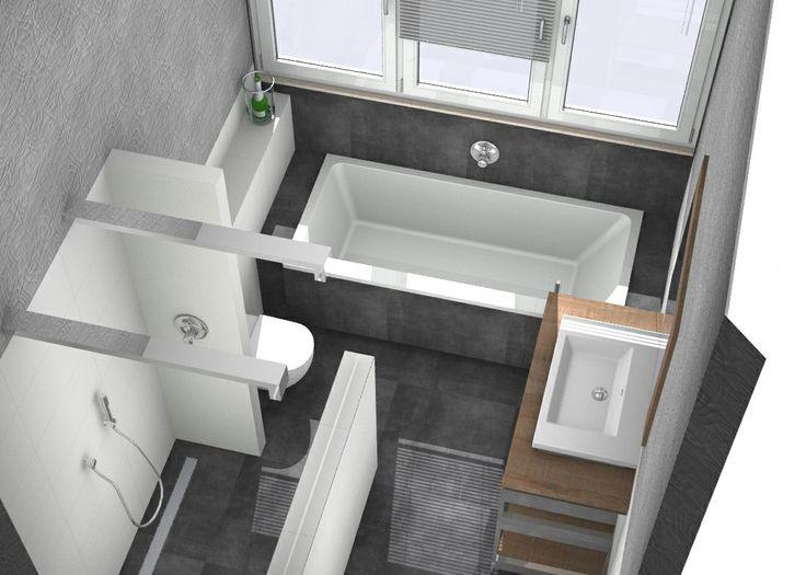 25+ beste ideeën over kleine badkamer op pinterest, Badkamer