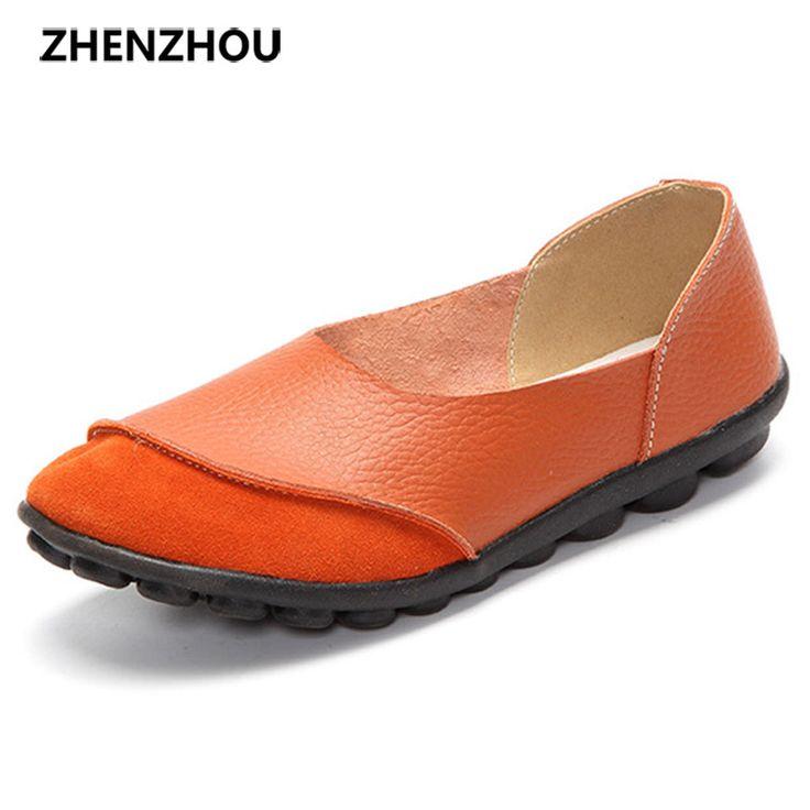 Hommes Chaussures en Cuir Été Automne Confort Mocassins Et Slip-Ons Chaussures de Conduite pour Casual à la Main Grande Taille Noir, Brun (Color : C, Taille : 39)