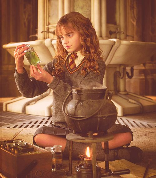 Hermione Brewing Polyjuice