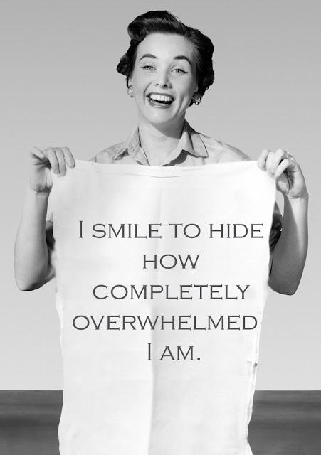 Just keep smiling, just keep smiling....