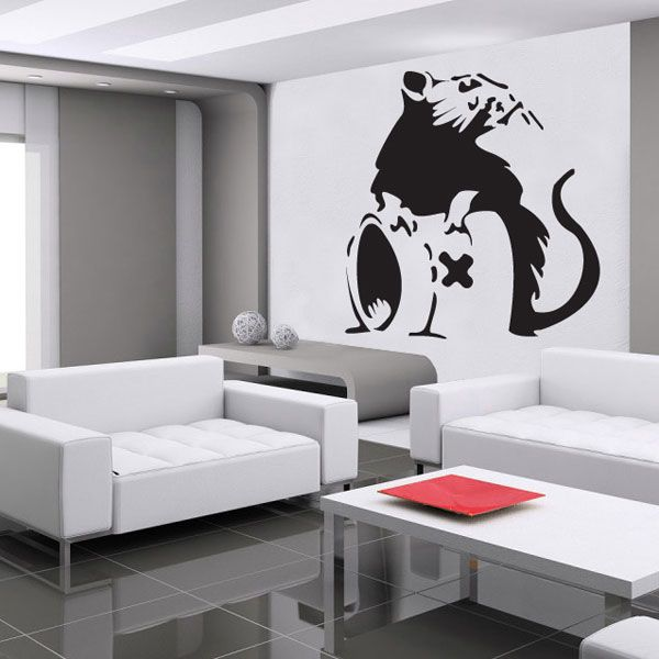 Best Banksy Rat Ideas On Pinterest Banksy Wiki Banksy - Wall stickers decalswall decal wikipedia