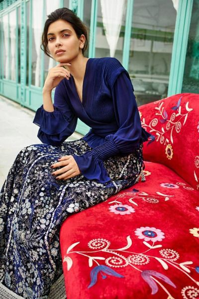 Indian Actress Diana Penty for Patine's Renaissance Collection | FW 2016/17