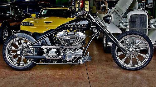 2007 Custom Pro-Street Motorcycle | pinterest.com/pin/199354… | Flickr