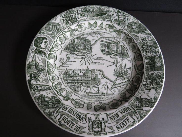 Highway 20 commemorative plate
