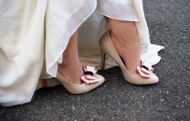 3D bows shoe clips