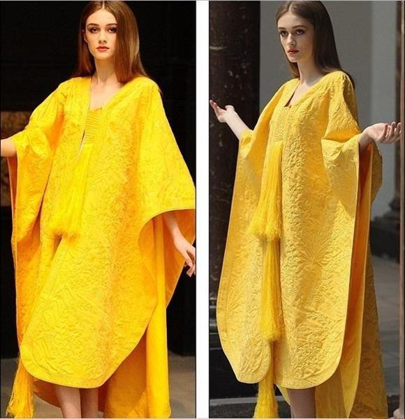 Золотое платье из паутины