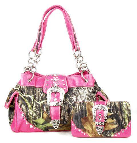 camo purse and wallet