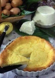 Embruciatta, tarte corse au fromage blanc