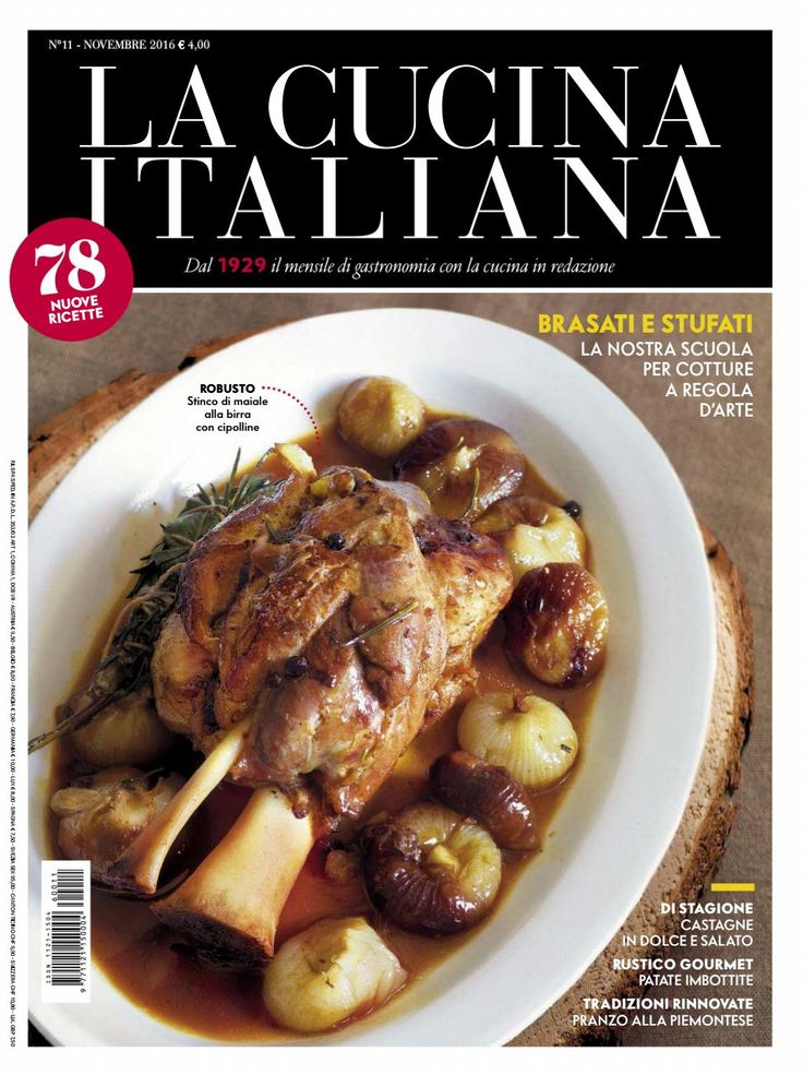 La cucina italiana novembre 2016 mar