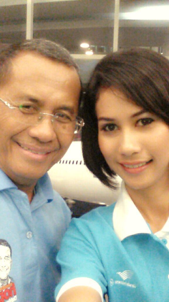 With Dahlan Iskan