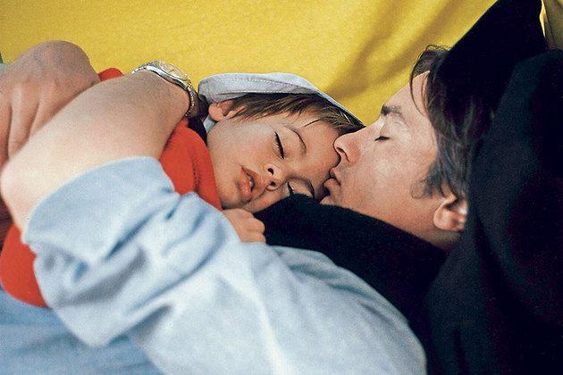 Младший сын Делона появился на свет через 2 года после меня. (Ален Делон с сыном Энтони, 1967 г.) Фото: Getty Images/Fotobank