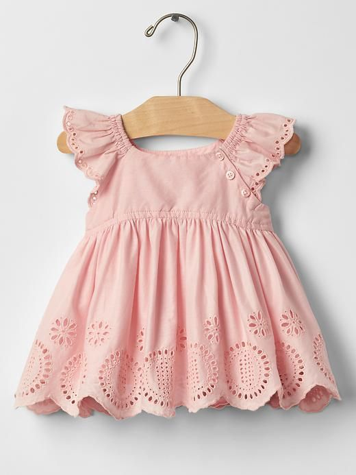 Gap Eyelet Flutter Top - Also available in white