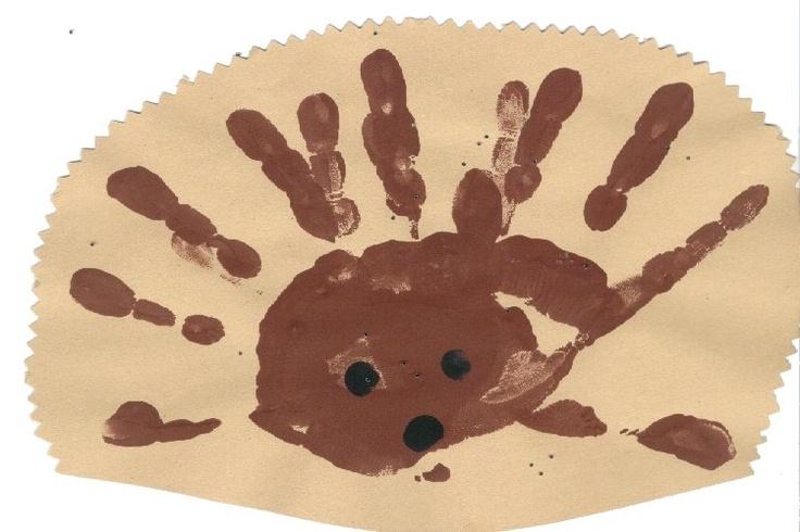 hedgehog craft, haha... funny