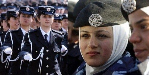 Turkish military allows female personnel to wear headscarf - http://thehawk.in/news/turkish-military-allows-female-personnel-to-wear-headscarf/