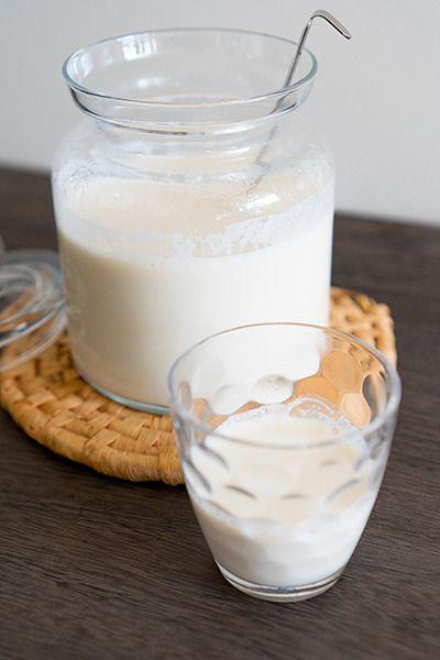 自家製生アーモンドミルクとアーモンドプードル by monamiさん ...