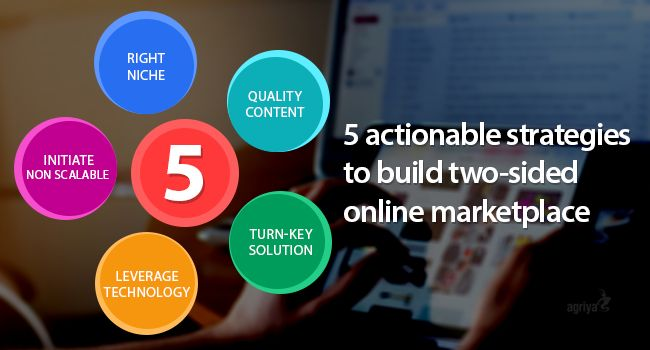 5 Actionable Strategies To Build Two-Sided Online Marketplace. To know more, http://www.techchangers.com/5-actionable-strategies-to-build-two-sided-online-marketplace/