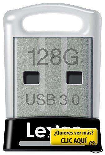 Lexar JumpDrive S45 - Memoria USB 3.0 de 128 GB -... #usb
