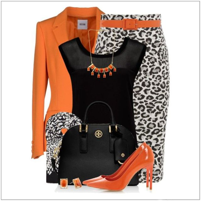CHATA'S DAILY TIP: Animal prints are timeless. Keep this stylish print looking classy and sophisticated with elegant accessories to ensure the overall look is smart and professional. If the on-trend orange shoes are too bright for you replace them with chic black courts. COPY CREDIT: Chata Romano Image Consultant, Samantha Moir http://chataromano.com/consultant/samantha-moir/ IMAGE CREDIT: Pinterest
