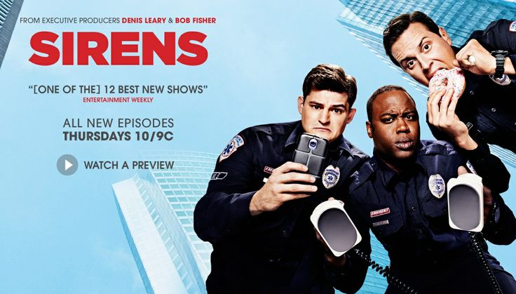 SIRENS- USA network/from ex.producers Denis Leary & Bob Fisher