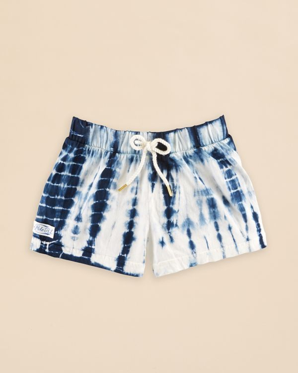 Ralph Lauren Childrenswear Girls' Tie Dye Shorts - Sizes 2-6X