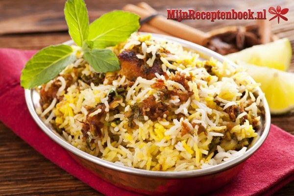 Indiase kip Biryani recept
