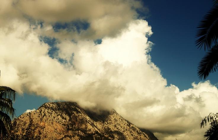 dumanlı dağ
