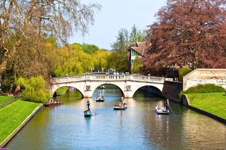 A cidade universitária de Cambridge não vive só da faculdade e de suas construções históricas, não! ... - Shutterstock