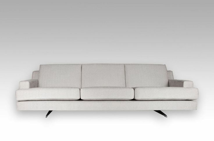 Highgate Sofa made with quantum enduro cushions, integrated back cushions and coil spring