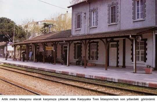 Karşıyaka İstasyonu muhtemelen 2000 den önce