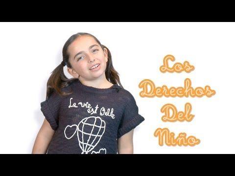 Aprende cuáles son los Derechos del Niño - YouTube