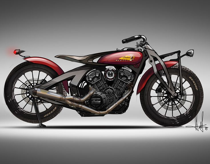 Maksim Ponomarev On Behance Indian Scout Heritage Scout
