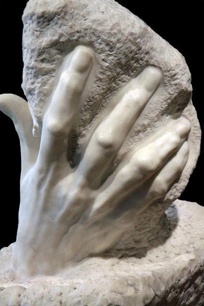 François Auguste René Rodin (1840-1917) - The Hand of God, RISD Museum Rodin,