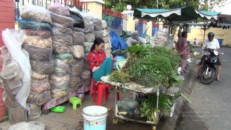 Toàn cảnh Chợ thuốc nam Rạch Giá P1  Rach Gia Market