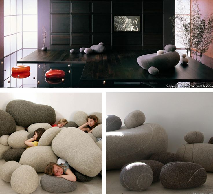 I think kids would love this! You could totally make them for furniture next to an entertainment center.