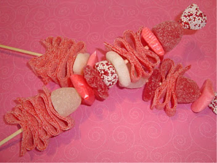 74 best images about candy brochette on pinterest for Inspirational valentine crafts