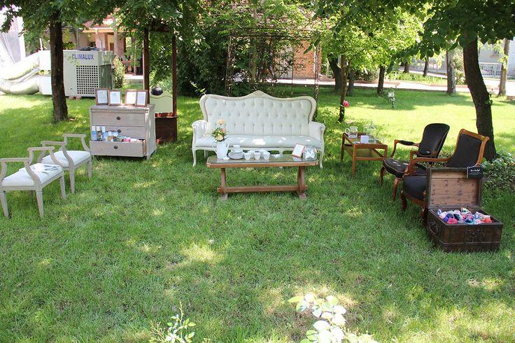 Relaxation corner #weddinginthepark