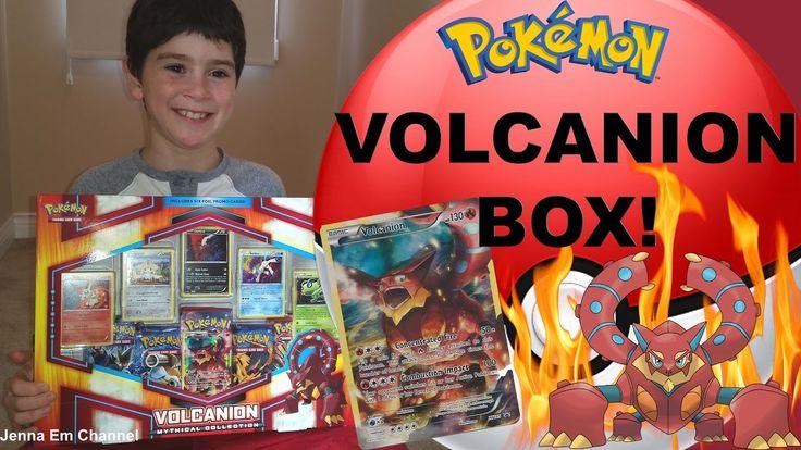 VIDEO: #Pokemon Volcanion Mythical Box!  WATCH: https://youtu.be/0wcpDGm63AU  #PokemonCards #PokemonTCG