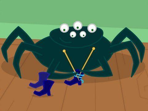 ▶ Une araignée sur le plancher - YouTube