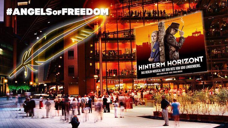 Feiert mit uns die Freiheit beim Festival of Lights! In drei Tagen geht es schon los. Wir sind mit Freiheitsengeln als Lichtinstallationen vor Stage Theater am Potsdamer Platz dabei. Kommt vorbei! #AngelsofFreedom #Freiheit #FestivalofLights #Fol15 #Berlin #hintermhorizont by hinterm_horizont_musical