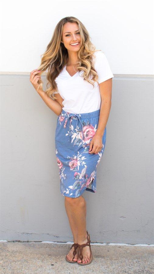 Floral Weekend Skirt