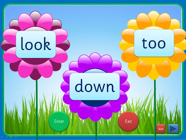 An interactive PowerPoint, linked to Letters and Sounds (Phase 3), that can be worked through at your own pace. Each slide has up to four high frequency words included and they can be viewed individually. The words enter as flower centres and can exit once viewed. This presentation could be used for small groups and individual children in addition to whole class teaching. The Comic Sans activity is editable while the others use an embedded font (Sassoon Infant)