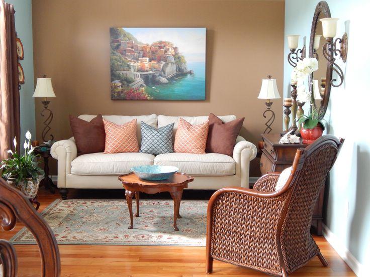 Small Living Room Designed By Melanie Harley, Posh Home Designs, Fleming  Island, FL