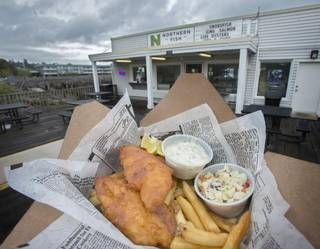 20 best sneaking back to seattle images on pinterest for Fish and chips ballard