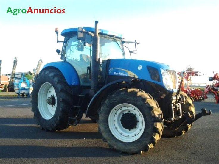 Venta de Tractor agrícola New Holland T7060 PC en Zaragoza