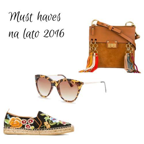 Must have na lato! #niezbędniki #akcesoria #musthave #essentials #nalato #boho #hippie#haft #frędzle #retro