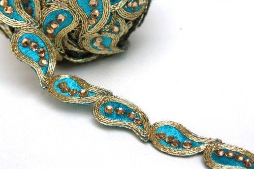 Saree Border Stitching, Sari Border and Lace Trim, By The Yard,
