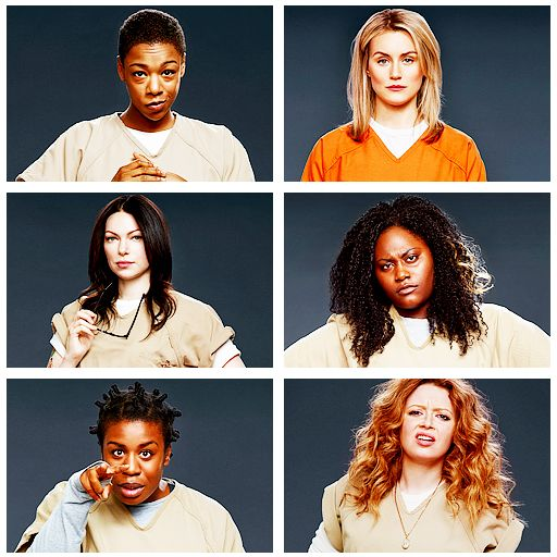 Orange Is the New Black.❤  This is seriously one of the best shows I've watched in a very long time!